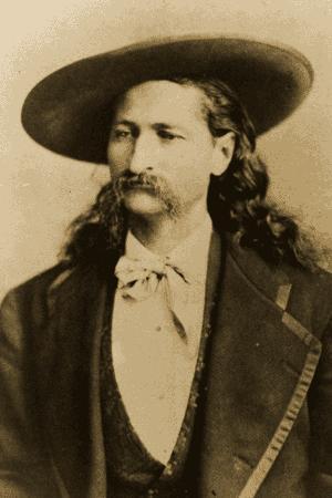 WIld Bill HIckok. Source Wikimedia commons